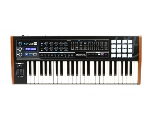 MIDI-клавиатура ARTURIA KeyLab 49 Black Edition