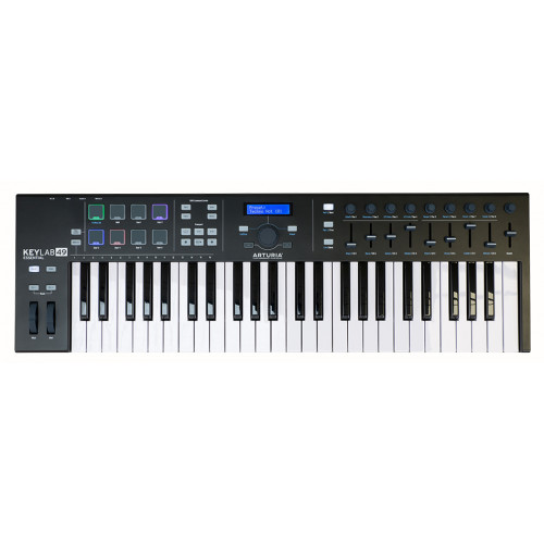 Миди-клавиатура Arturia KeyLab Essential 49 Black Edition