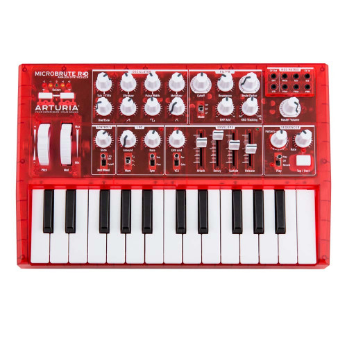 Аналоговый синтезатор ARTURIA MICROBRUTE RED